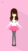 Screenshot of Lovey - Create Cute paperdolls