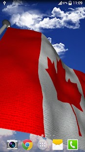 Canada Flag - LWP - screenshot
