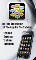 Screenshot of Biz Talk Translator (Say Hi)