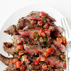 Grilled Steak With Tapenade