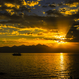 Sunset Antalya by Mustafa Korucu - Landscapes Sunsets & Sunrises ( antalya, sunset )