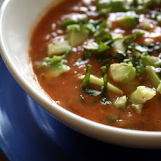 Raw Tomato Basil Soup