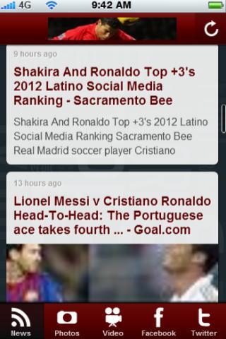 Ronaldo News