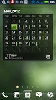 Screenshot of EZ Calendar Widget