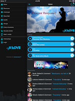 Screenshot of myKLOVE