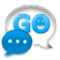 GO SMS Pro Cobalt Glass Theme icon