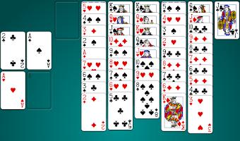 Screenshot of Yukon Solitaire