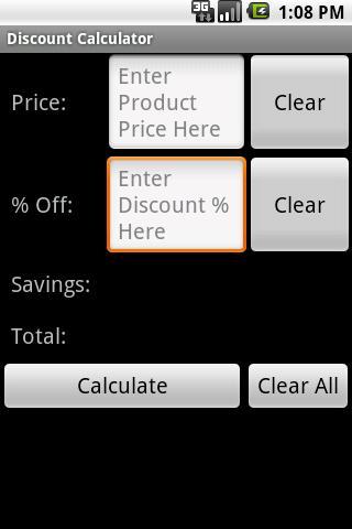 【免費購物App】Simple Discount Calculator-APP點子