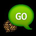 GO SMS - Faded Wicker icon