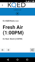 Screenshot of KQED