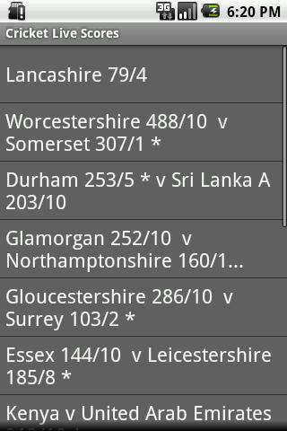 Cricket Live Scores - Free