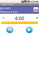 Screenshot of Time Out Timer
