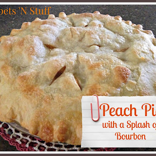 Peach Pie with a Splash of Bourbon