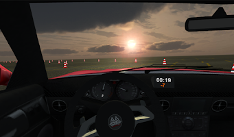 Screenshot of Slalom Racing Simulator 3D
