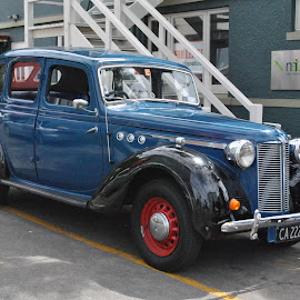 Old Blue by James Menteith - Transportation Automobiles ( automobiles, transport, cars, classic,  )