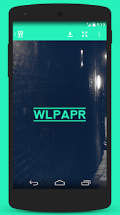 wlpapR - screenshot