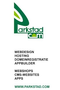 Parkstad.com Webdesign - screenshot