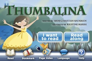 Screenshot of Thumbelina StoryChimes