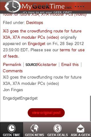 【免費娛樂App】MyGeekTime.net Online GeekBot-APP點子