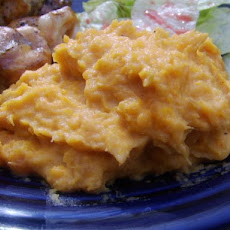 Smokey Mashed Sweet Potatoes
