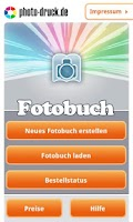 Screenshot of Fotobuch