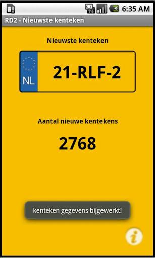 RD2 Latest Vehicle ID