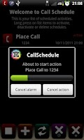 Screenshot of Call Schedule Lite