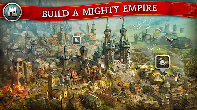 Kings Of The Realm - MMORTS APK screenshot thumbnail 2