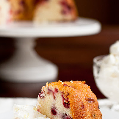 Cranberry-Cream Cheese Bundt Cake