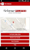 Screenshot of Potomac Pilates