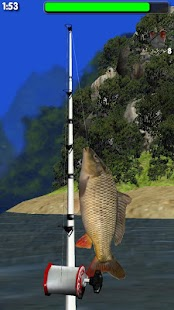 Big River Fishing 3D - screenshot