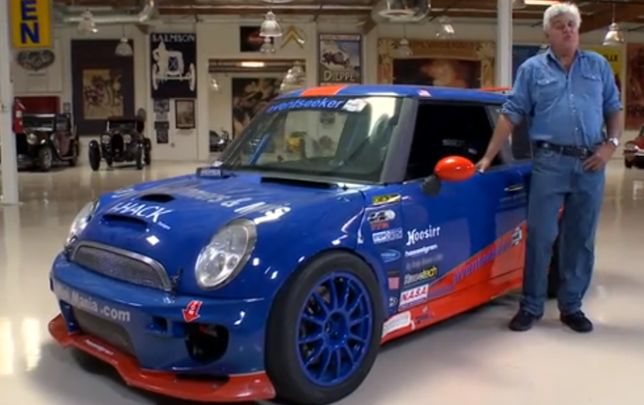 Jay Leno Drives A Mean 500HP Mini Cooper (VIDEO)