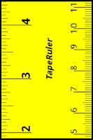 Screenshot of TapeRuler