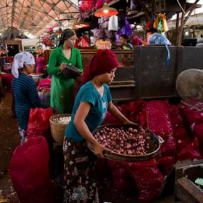 Pabean market II by Nyoto Nugroho Poospo - City,  Street & Park  Markets & Shops