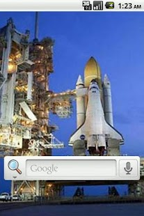 NASA Shuttle Live Wallpaper - screenshot