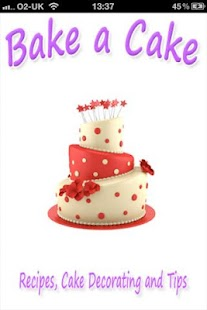 Bake A Cake: Recipes, Cake Dec - screenshot