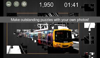 Screenshot of Cut My Puzzle (photo jigsaw)