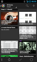 Screenshot of Pocket+ extension for News+
