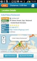 Screenshot of Abu Dhabi Guide Hotels Weather