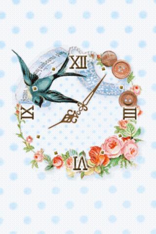 Sewing Bird ClockWidget