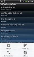 Screenshot of Guitar TabApp - PRO