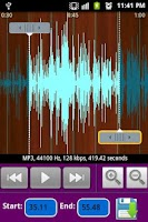 Screenshot of mp3 Ringtone Maker
