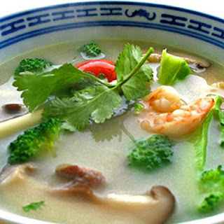 Tom Yum Soup (with Coconut Milk)