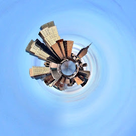 The tiny planet by Frank Simon - Instagram & Mobile iPhone