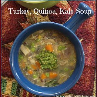Turkey, Quinoa, Kale Soup