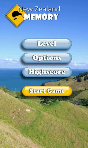 New Zealand Memory Game
