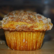 Eggnog Muffins With Nutmeg-Streusel Topping