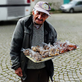 Street Vendor by Costa Philippou - People Street & Candids