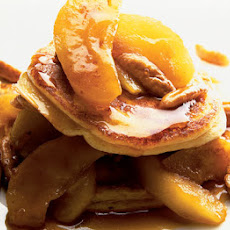 Buttermilk Pancakes With Maple Apples & Pecans