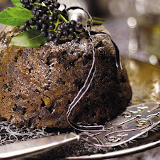 Christmas Pudding With Muscovado Brandy Butter